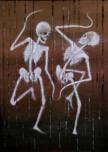 Tanec smrti / Danse Macabre (Norimberská kronika 1493)
